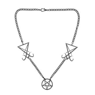 Collier Luciferi, Leather & Steel Fashion