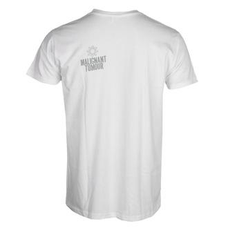 T-shirt MALIGNANT TUMOUR pour hommes  - E190 - BLANC, NNM, Malignant Tumour