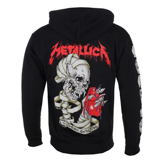 Sweat à capuche pour hommes Metallica - Heart Explosive, ROCK OFF, Metallica