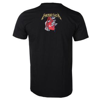 T-shirt pour hommes Metallica - Heart Explosive - ROCK OFF, ROCK OFF, Metallica