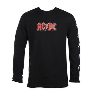 T-shirt à manches longues pour hommes DC - AC / DC - ABOUT TO ROCK - NOIR - ADYZT04981-KVJ0