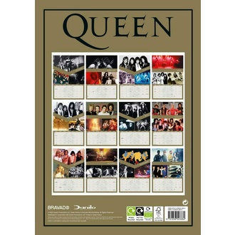 Calendrier 2021 - QUEEN, NNM, Queen