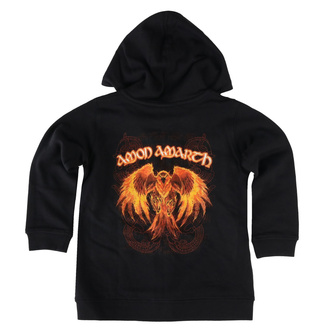 Sweat à capuche pour enfants Amon Amarth - Burning Eagle - Metal-Kids - 527-39-8-999