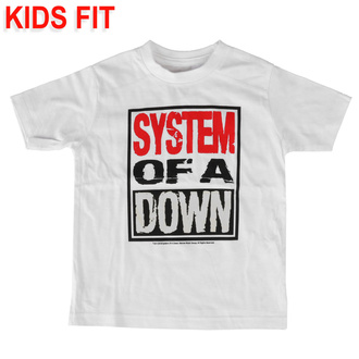 T-shirt pour enfants System of a Down - Logo - Metal-Kids, Metal-Kids, System of a Down