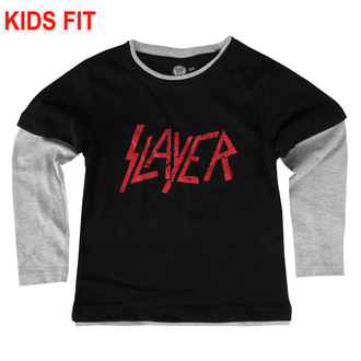 T-shirt pour enfants à manches longues Slayer - Logo - Metal-Kids, Metal-Kids, Slayer