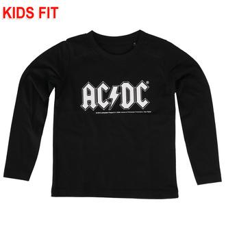 T-shirt pour enfants à manches longues AC / DC - Logo - Metal-Kids - 431.36.8.7