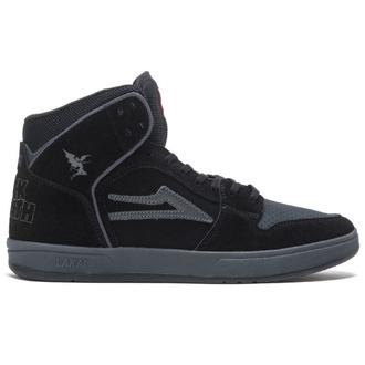 chaussures Lakai x Black Sabbath - Telford SMU - noir gris suède, Lakai x Black Sabbath, Black Sabbath