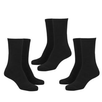 chaussettes (ensemble de 3 paires) URBAN CLASSICS - Sport 3-Pack - noir, URBAN CLASSICS