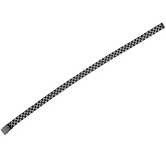 URBAN CLASSICS ceinture - Adjustable Checker - gris noir, URBAN CLASSICS