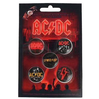 Badges AC / DC - POWER UP - RAZAMATAZ, RAZAMATAZ, AC-DC