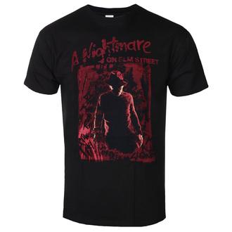 T-shirt pour hommes Freddy Les griffes de la nuit - Freddy Silhouette - Noir, BIL, Les griffes de la nuit