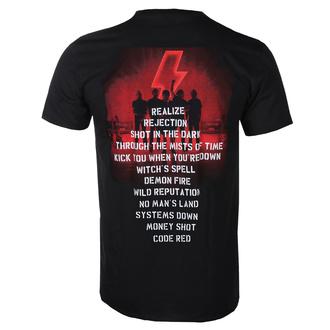 T-shirt pour hommes AC / DC - Power Up - Track Leaf - Noir, BIL, AC-DC