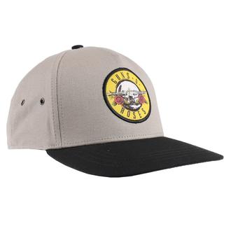 Casquette Guns N' Roses - Circle Logo - beige / noir - ROCK OFF, ROCK OFF, Guns N' Roses