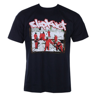 T-shirt pour hommes Slipknot - 20th Anni - Red Jump Suits - MARINE - ROCK OFF, ROCK OFF, Slipknot