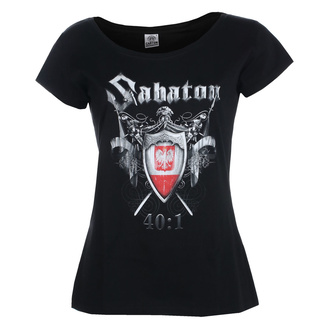 T-shirt pour femmes SABATON - 40:1 - CARTON, CARTON