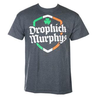 T-shirt pour hommes Dropkick Murphys - Ire Shield - Dark Heather - KINGS ROAD, KINGS ROAD, Dropkick Murphys