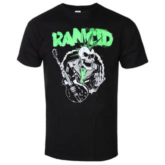 T-shirt pour hommes Rancid - SkeleTim Guitar - Noir - KINGS ROAD, KINGS ROAD, Rancid