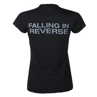 T-shirt pour femmes Falling In Reverse - Losing My Life Fitted - Noir, KINGS ROAD, Falling In Reverse