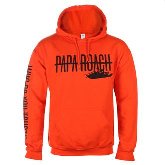 Sweat à capuche pour hommes Papa Roach - WDYT Blaze - Orange - KINGS ROAD - 20130616