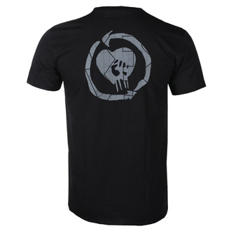 T-shirt pour hommes Rise Against - Stacked Ghost Notes Stencil - Noir - KINGS ROAD, KINGS ROAD, Rise Against