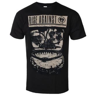 T-shirt pour hommes Rise Against - War Room - Noir - KINGS ROAD - 20111051