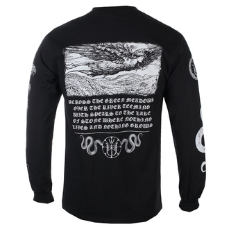T-shirt pour hommes à manches longues Wolves In The Throne Room - Loki New - Noir - KINGS ROAD - 20168424