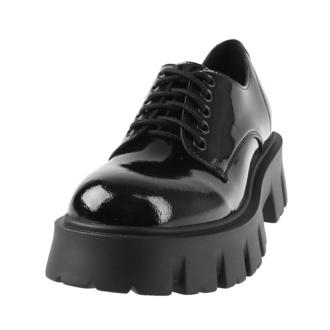 Chaussures pour femmes ALTERCORE - Deidra Vegan - Noir Brevet, ALTERCORE