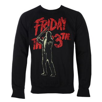 Sweat-shirt  pour hommes Friday The 13th - Jason Voorhees - Noir - HYBRIS, HYBRIS, Friday the 13th