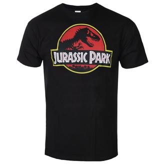 T-shirt pour hommes Jurassic park - Distressed Logo - Noir - HYBRIS, HYBRIS, Jurassic Park