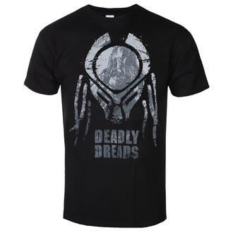 T-shirt pour hommes Predator - Deadly Dreads Iconic - Noir - HYBRIS, HYBRIS, Predator