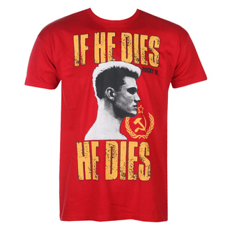 T-shirt pour hommes Rocky - If He Dies, He Dies - Tango-Rouge - HYBRIS, HYBRIS, Rocky