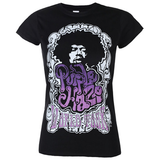 T-shirt pour hommes Jimi Hendrix - Purple Haze World Tour - Noir - HYBRIS, HYBRIS, Jimi Hendrix
