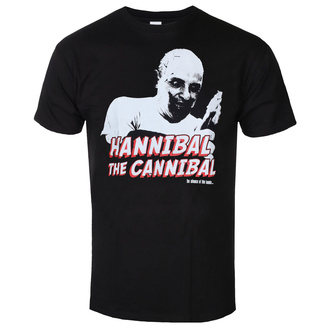 T-shirt pour hommes The Silence of the Lambs - Hannibal - The Cannibal - Noir - HYBRIS, HYBRIS, Le silence des agneaux