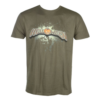 T-shirt pour hommes HELLOWEEN - Unarmed - Kaki - NUCLEAR BLAST, NUCLEAR BLAST, Helloween