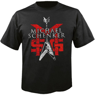 T-shirt pour hommes MICHAEL SCHENKER - Group Logo, NUCLEAR BLAST, Michael Schenker