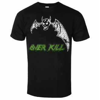 T-shirt Overkill pour hommes - Power In Black - ART WORX, ART WORX, Overkill