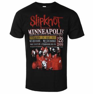 T-shirt Slipknot pour hommes - Minneapolis '09 - ROCK OFF, ROCK OFF, Slipknot