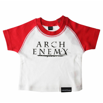 T-shirt pour enfants Arch Ennemi - rouge / blanc - MER038