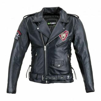 Veste pour hommes (double rider) BLACK HEART - PERFECT - NOIR - 029-0015-BLK - ENDOMMAGÉ - BH079