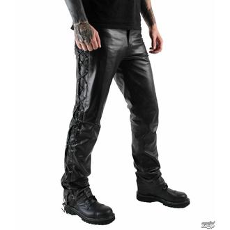 Pantalon en cuir pour hommes OSX - Out-Law - Noir, OSX