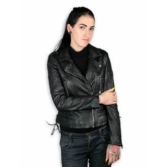 Veste pour femmes (veste metal) - WONDER WOMAN - LAMEV MET / BLK - M0010772 - ENDOMMAGÉ - BH094