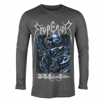 T-shirt pour hommes à manches longues EMPEROR - IN THE NIGHTSIDE ECLIPSE - CHARCOAL - PLASTIC HEAD, PLASTIC HEAD, Emperor