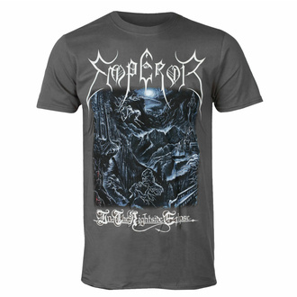T-shirt pour hommes EMPEROR - IN THE NIGHTSIDE - CHARCOAL - PLASTIC HEAD, PLASTIC HEAD, Emperor