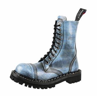 Bottes STEADY´S - 10 œillet - jeans, STEADY´S