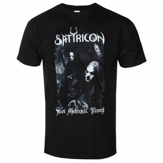 T-shirt pour homme SATYRICON - Dark Medieval Times - NAPALM RECORDS, NAPALM RECORDS, Satyricon