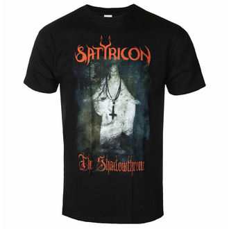 T-shirt pour homme SATYRICON - The Shadowthrone - NAPALM RECORDS, NAPALM RECORDS, Satyricon