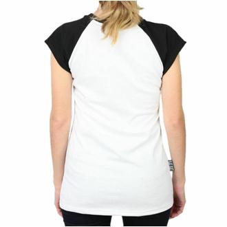 T-shirt pour femmes BLACK HEART - LADY LUCK - BLANC, BLACK HEART