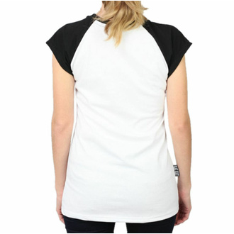 T-shirt pour femmes BLACK HEART - BIKE - BLANC, BLACK HEART