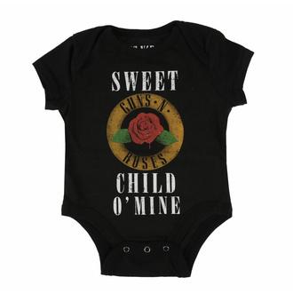 Body pour enfants Guns N' Roses - Child O' Mine Rose - ROCK OFF, ROCK OFF, Guns N' Roses
