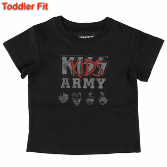 T-shirt pour enfants Kiss -Kids Army - ROCK OFF, ROCK OFF, Kiss